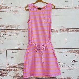Striped Knit Sundress Gap Kids 8 Pink Orange